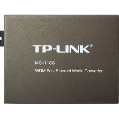 Медиаконвертер TP-Link MC-111CS 100BaseTX to SM Fiber (20км)