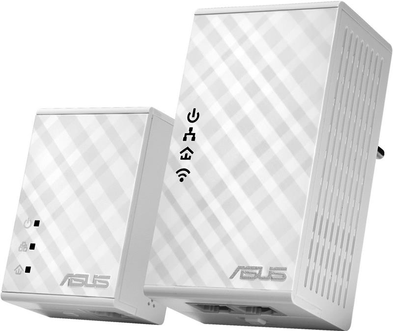Адаптер ASUS PL-N12 (2шт) EthernetToPowerline N300 (PL-N12)