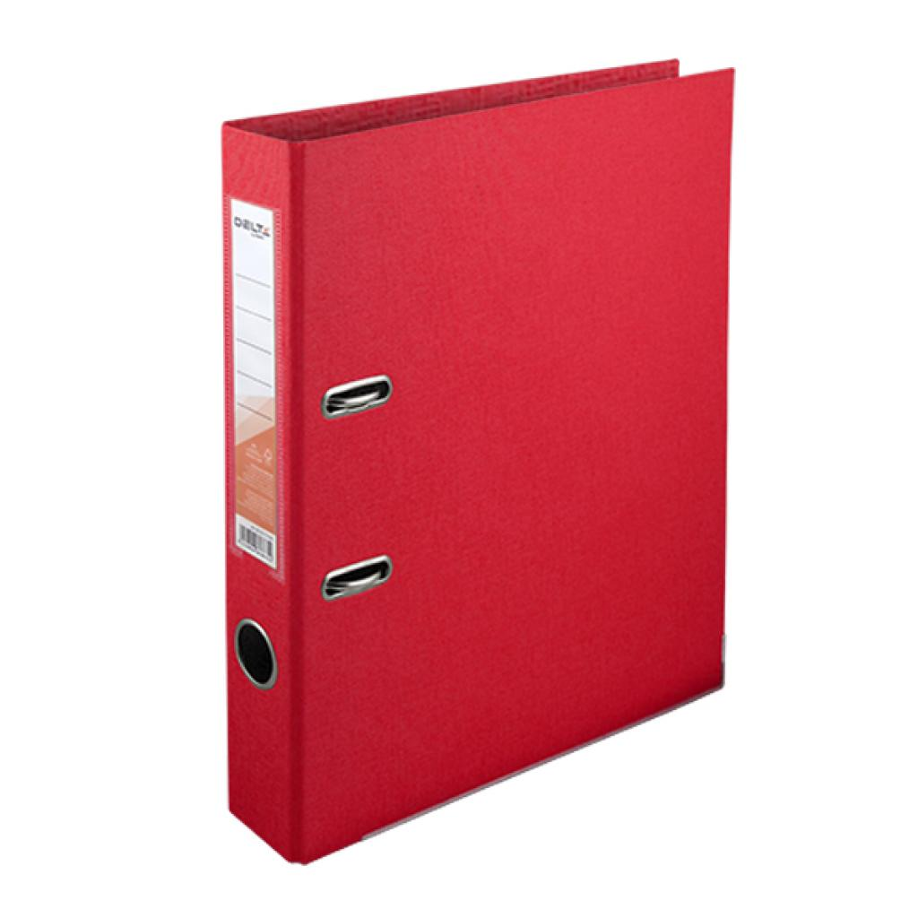 Папка - регистратор Delta by Axent double-sided PP 5 cм, assembled, red (D1711-06C)