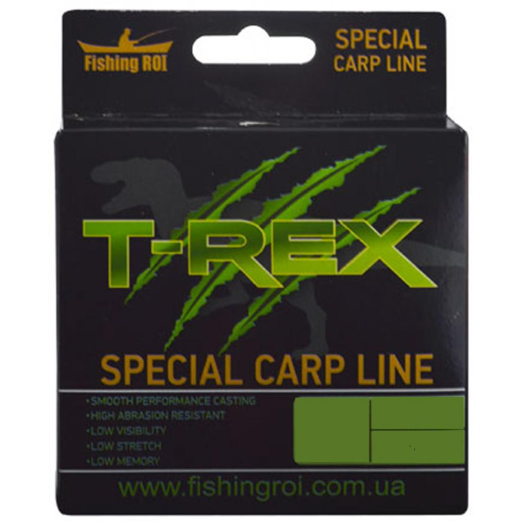 Леска Fishing ROI T-REX Special Carp Line Brown 250м 0,34мм 10.9кг (49-00-034)