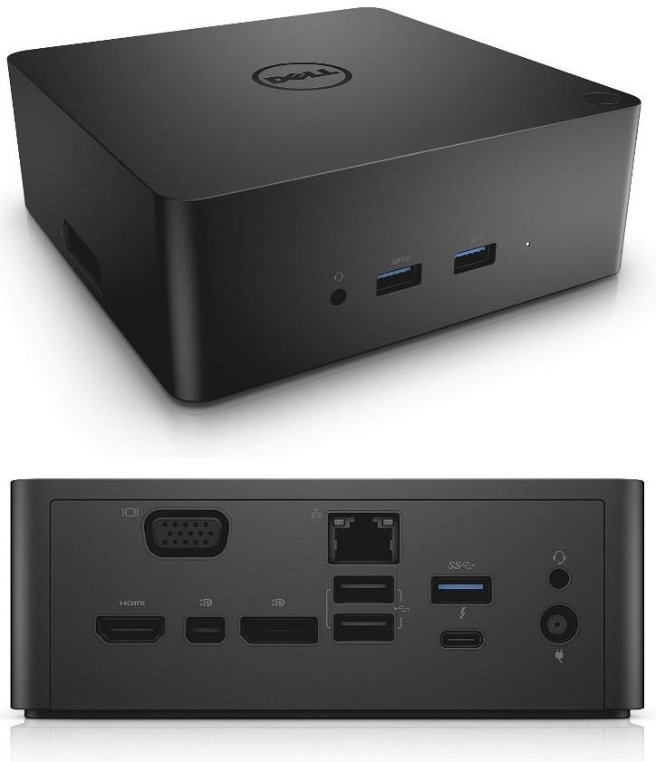 Порт-реплiкатор Dell Thunderbolt Dock with 180W AC TB16 (452-BCOY)