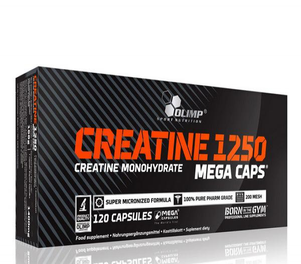 Creatine Mega Caps 1250 ( 120 caps )