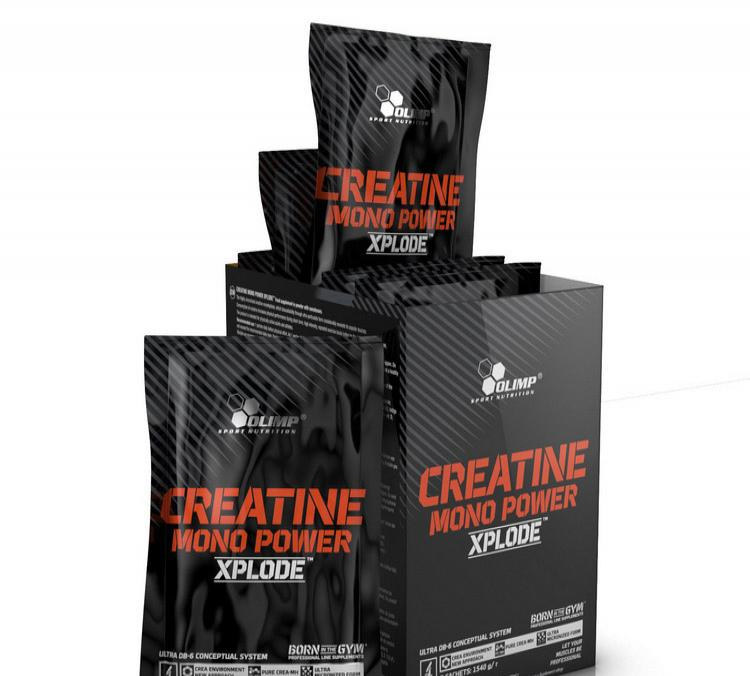 Creatine Mono Power Xplode ( 220 g )  - orange