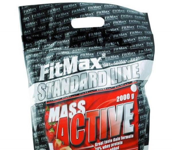 Mass Active ( 2 kg )  - white chocolate
