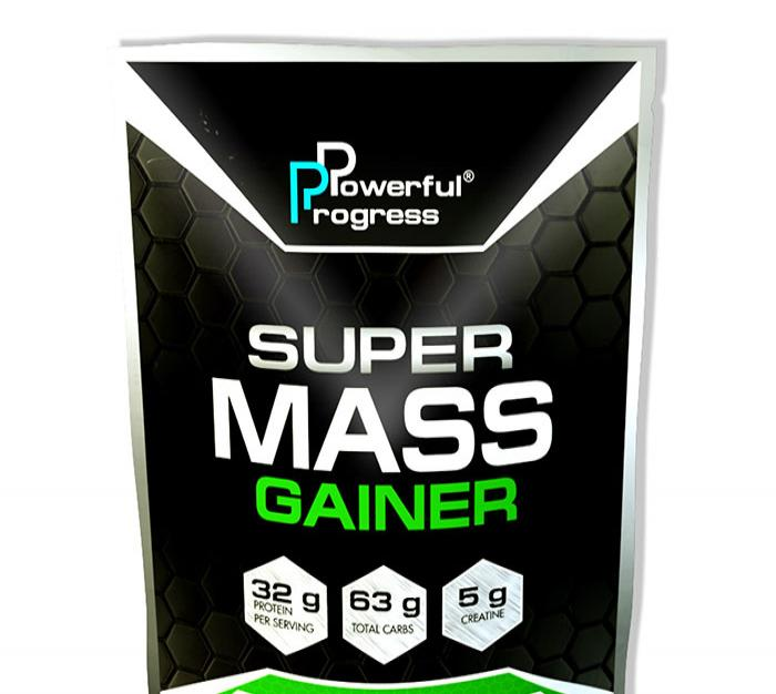 Super Mass Gainer ( 1 kg )  - strawberry