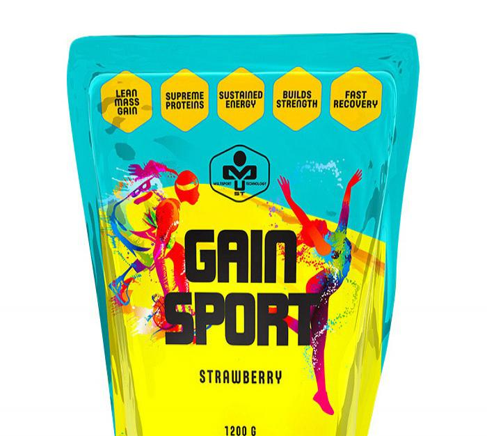 Gain Sport ( 1,2 kg )  - strawberry