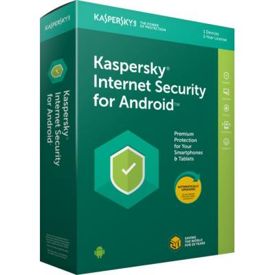 Антивирус Kaspersky Internet Security for Android 1-Mobile device 1 year Base Li (KL1091XCAFS)