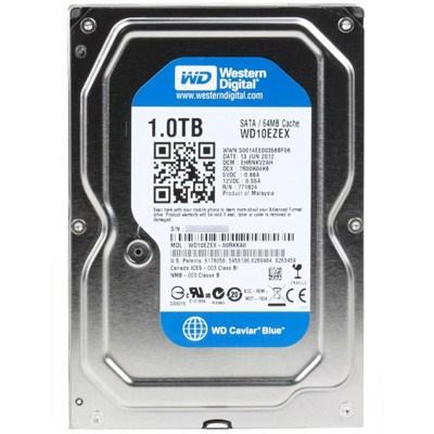 Накопитель HDD 3.5' SATA 1000Gb WD WD10EZEX 64MB 7200rpm