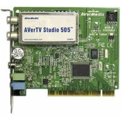 ТВ тюнер AVerMedia AverTV Studio 505 Philips SAA7130, 720 x 576, PCI (внутренний), FM тюнер