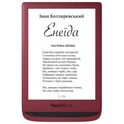 Електронна книга PocketBook 628 Touch Lux5 Ruby Red (PB628-R-CIS)