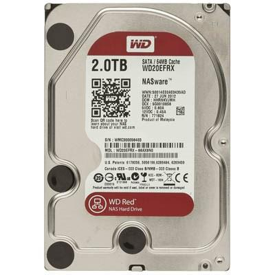 Накопитель HDD 3.5' SATA 2000Gb WD WD20EFRX 7200rpm 64MB