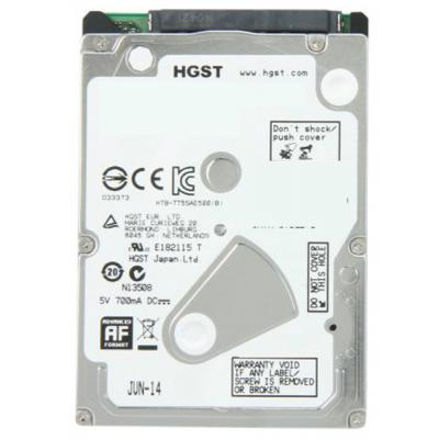 Жесткий диск 2.5' 500GB Hitachi (0J38065 / HTS545050A7E680) SATA 6Gb/s   8Мб   5400 об/мин.